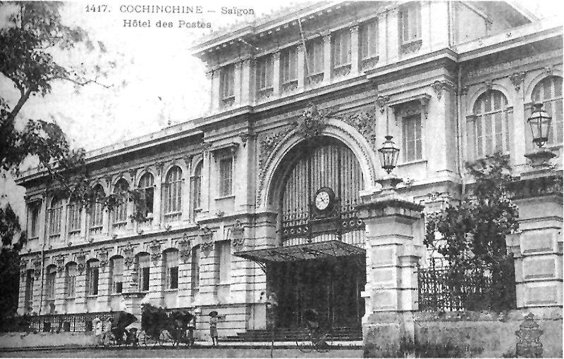 Năm 1886-1891: Xây dựng nhà Bưu điện Thành phố