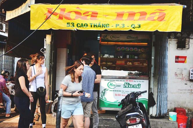 Hòa Mã là một trong những tiệm bán bánh mì đầu tiên ở Sài thành.