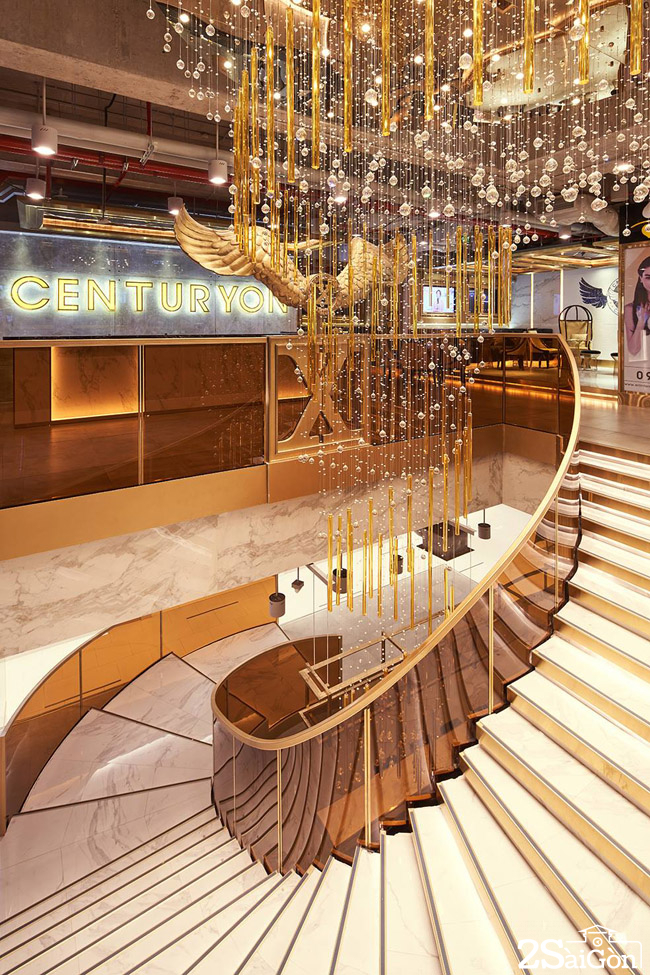California centuryon Saigon Centre