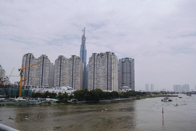 Hiện tại, nhà thầu đã cất nóc dự án tòa tháp Landmark 81.