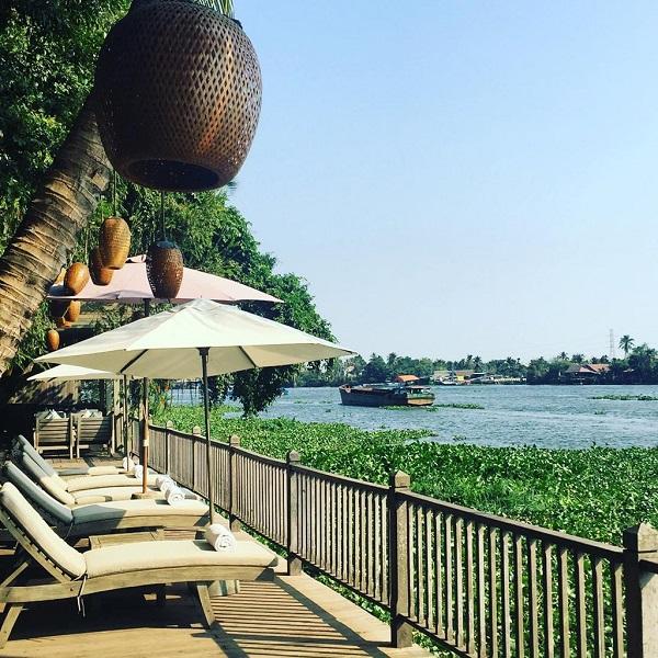 An Lâm Sài Gòn river resort: Khu nghỉ dưỡng nằm ở Bình Dương. Đây là nơi trú ẩn lý tưởng cho những ai yêu thích sự tĩnh lặng, biệt lập với cuộc sống ồn ào của phố thị.  Ảnh: Woliveur on Instagram