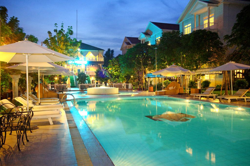 Tới đây, bạn sẽ được tận hưởng một khoảng thời gian yên tĩnh, thư thái, tách biệt với ồn ào, bụi bặm, nhưng vẫn thuận tiện để tới khu vực trung tâm thành phố. Ảnh: Silver Creek Resort
