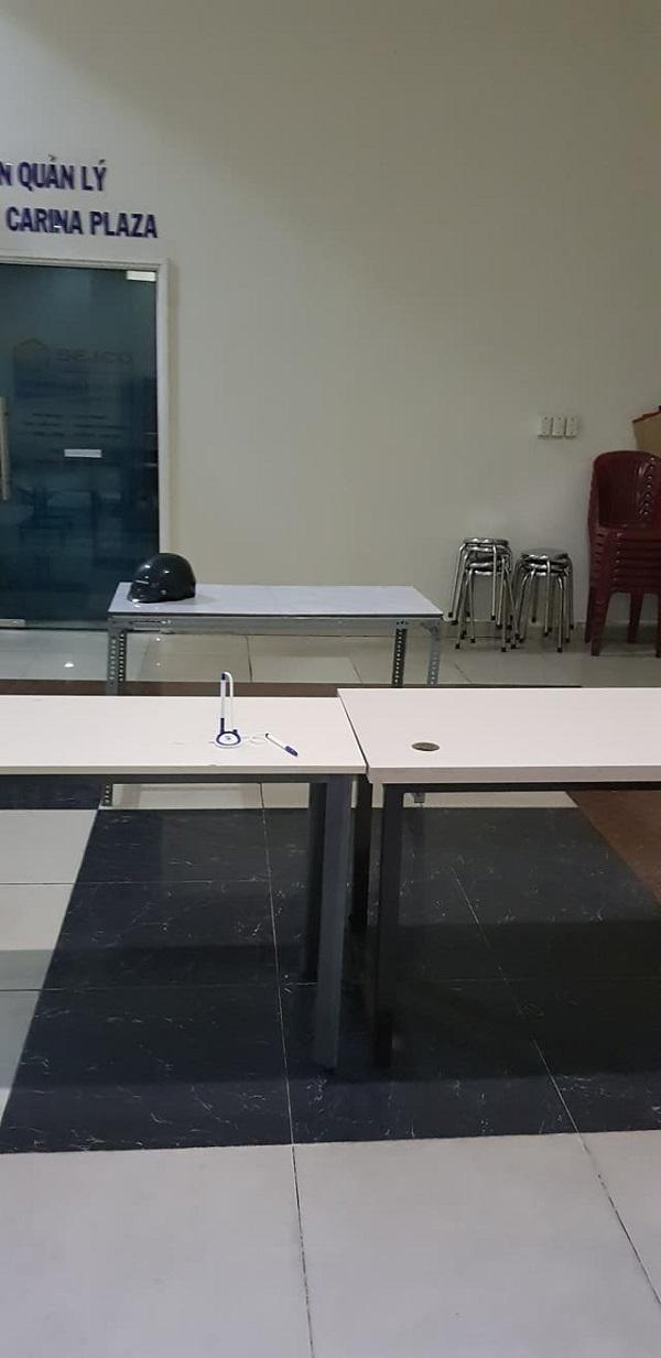 Đến nay, công ty Hùng Thanh vẫn chưa thể bắt tay vào việc sửa chữa chung cư sau vụ cháy kinh hoàng. (Ảnh: N.T).