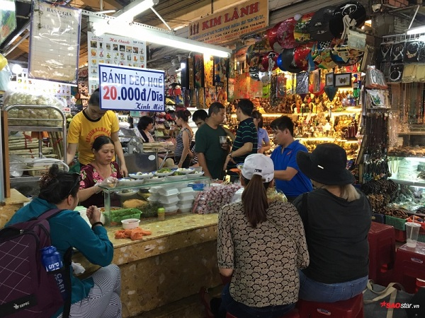 Chợ Viềng Nam định Ngày Nào: Tiệm Bánh Bèo Trứ Danh Chợ Bến Thành, 22 Năm Ngày Nào Cũng