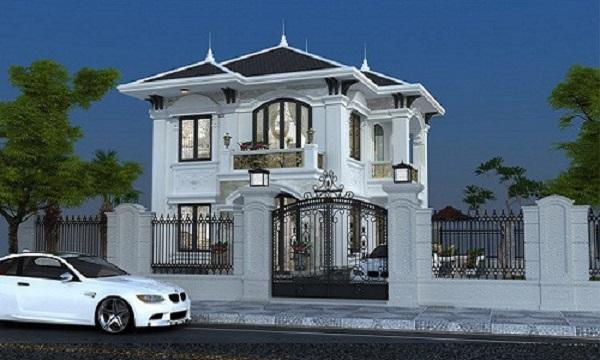 Nằm tại phường 13, Quận Tân Bình (TP HCM), ngôi biệt thự màu trắng gây ấn tượng từ xa bởi các đường nét trang trí cầu kỳ theo phong cách cổ điển.