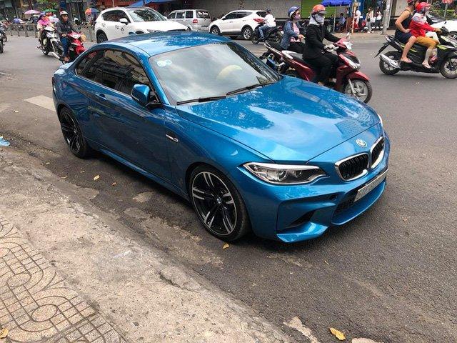 BMW M2 là một mẫu xe thể thao không quá đắt đỏ, nhưng khá hiếm tại thị trường Việt Nam