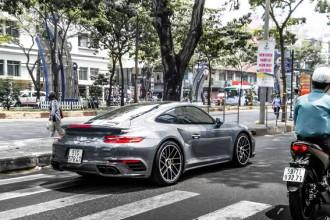 Khi được Chủ tịch Trung Nguyên mua lại, chiếc Porsche 911 Turbo S đã đăng ký biển số Sài Gòn.