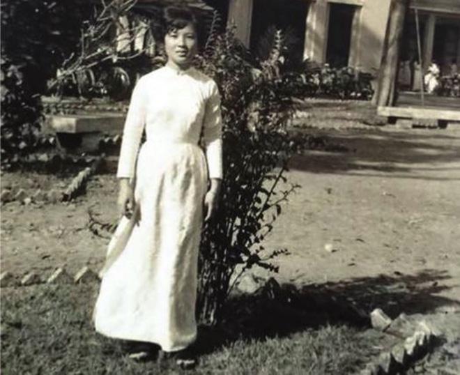 Nữ sinh Trần Kim Chi ngày ấy.