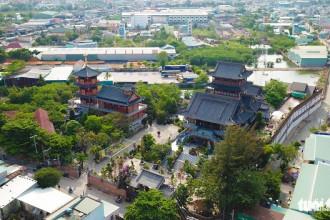 Thuở ban đầu, tu viện chỉ là một ngôi chùa nhỏ do Tổ sư Trí Hiền xây dựng năm 1905. Sau đó, một gia đình giàu có trong vùng hiến tặng chùa 6 ha đất cho nhà chùa - Ảnh: MINH HẢI