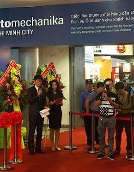 Lễ khai mạc triển lãm Automechanika tại TP. Hồ Chí Minh ngày 25/4