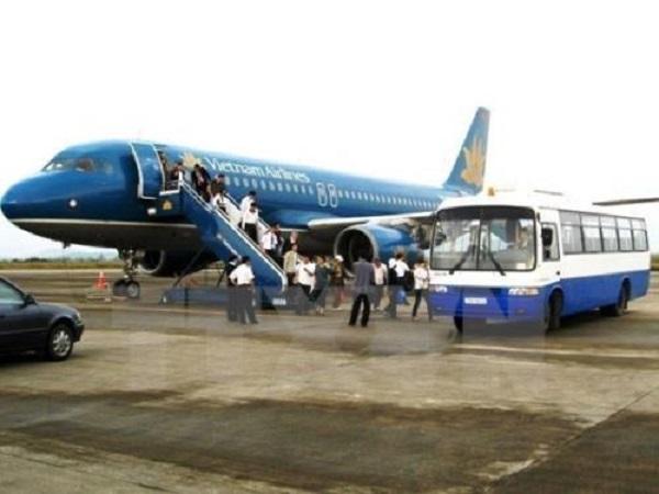 Vietnam Airlines tăng gần 60.000 ghế phục vụ hành khách dịp nghỉ lễ 30/4 - 1/5. Ảnh: TTXVN