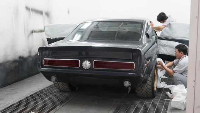 Chăm sóc, bảo vệ lớp sơn cho Ford Mustang Eleanor.