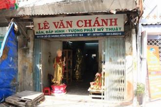 2saigon.vn, nghề nghiệp Sài Gòn, tạc tượng,tạc tượng thủ công ,xuất khẩu ,