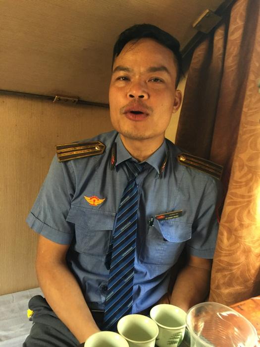 Anh Lê Ngọc Huấn, Trưởng tàu SE 6.