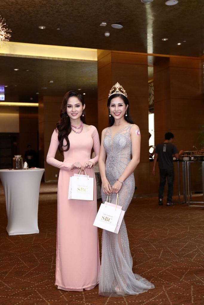 Hoa hậu sắc đẹp Việt Nam toàn cầu Bùi Như Ý và Nữ hoàng trang sức 2017 Mỹ Duyên