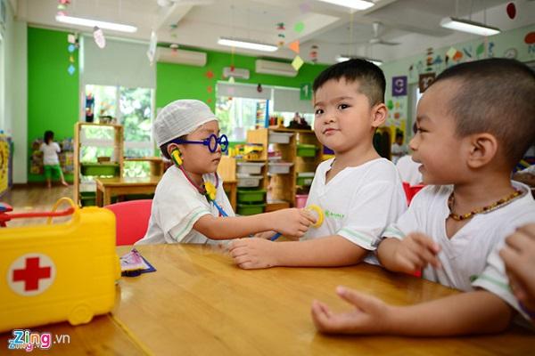 Trẻ mầm non tại Sài Gòn sẽ được nghỉ hè hơn một tháng. Ảnh minh họa: Anh Tuấn.