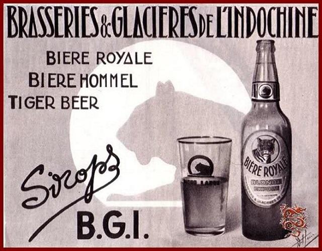 Bia B.G.I Sài Gòn xưa