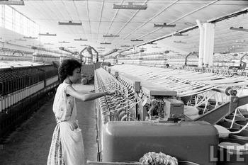 Ảnh: Xưởng dệt của Vinatexco