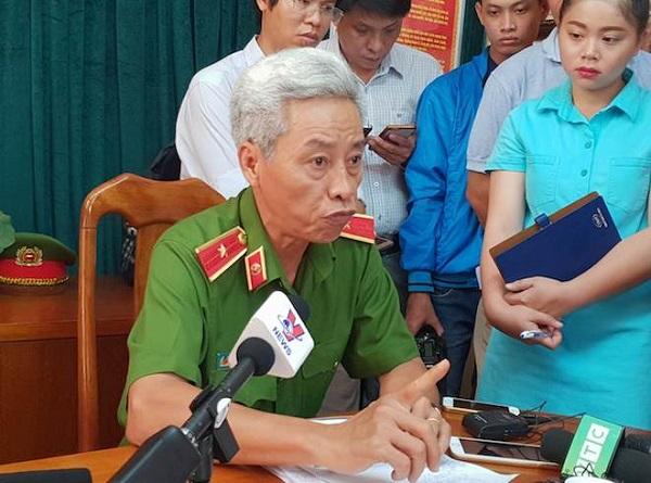Thiếu tướng Phan Anh Minh - Phó Giám đốc Công an TP.HCM.
