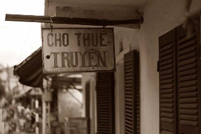 Một tiệm cho thuê truyện ở Sài Gòn thập niên 1960 - 1970. ẢNH: T.L