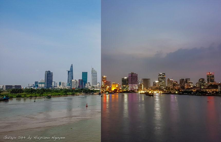 Đảo khẩu linh hoạt cũng chính là điểm mà anh Nguyễn Thanh Hải yêu thích khi dùng Galaxy S9/S9+. Độ sắc nét, chi tiết của hai tấm ảnh được chụp ở hai thời điểm khác nhau khiến anh không khỏi bất ngờ.