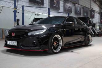 Honda Civic với bộ bodykit lấy cảm hứng từ chiếc Civic Type R tại thị trường Mỹ