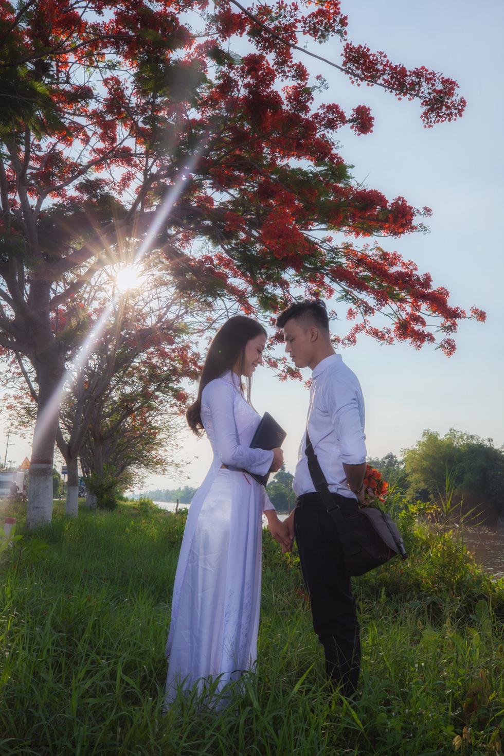 """Bộ ảnh chụp tại đây được bạn Phạm Huy chia sẻ trên mạng xã hội. Huy viết trên trang cá nhân: """"Quay về kỷ niệm thuở còn học sinh. Có những thứ trôi qua không bao giờ tim lại được"""" - Ảnh: HỮU HIẾU"""