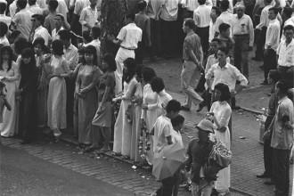 Đường phố Sài Gòn năm 1964. Ảnh VT
