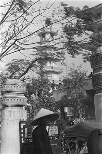 Chùa Xá Lợi ở Sài Gòn trong ảnh chụp vào tháng 3.1964. Ảnh VT