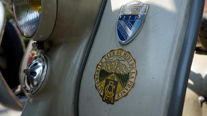 xe-co Chiếc Lambretta còn gần như nguyên vẹn mọi chi tiết Ảnh Lê Tân