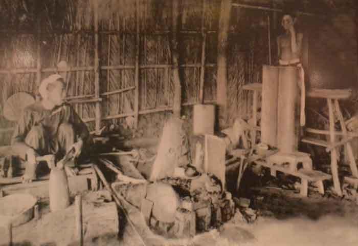 Nghề rèn phục vụ nông nghiệp thời bấy giờ.