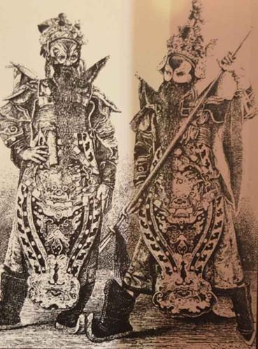 Hát bội được xem là loại hình văn nghệ dân gian được nhiều người dân xưa ưa chuộng.