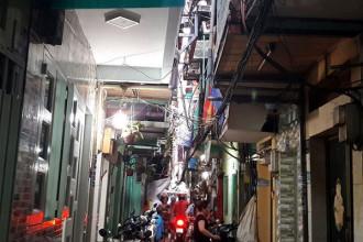 Những căn nhà siêu nhỏ trong hẻm 245/79 Nguyễn Trãi, Q.1, TP.HCM ẢNH: NHƯ LỊCH
