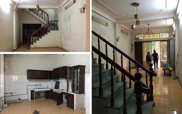 Ngôi nhà 4 tầng ở quận Bình Thạnh (TP HCM) được xây dựng 15 năm trước. Cách xây kiểu cũ với thang bố trí giữa nhà khiến các phòng đều bị tối tăm, chật hẹp so với diện tích mặt bằng 72 m2.