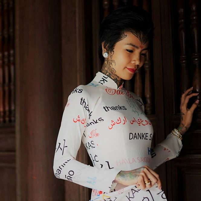 Phạm Mai mong muốn lập kỉ lục người phụ nữ Việt Nam có nhiều hình xăm nhất.