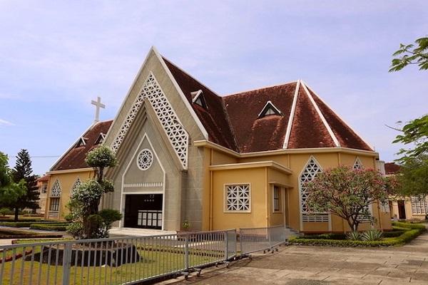 Hội Dòng Mến Thánh giá Thủ Thiêm có mặt tại Thủ Thiêm từ năm 1840. Ảnh: Quỳnh Trang