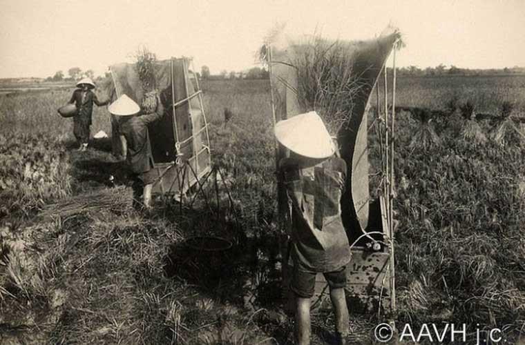 Những người dân lao động thời đó.