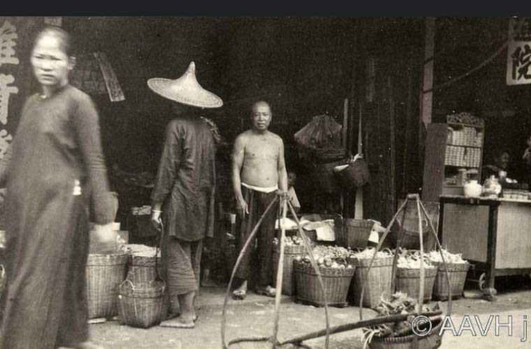 Một cửa hàng ở Chợ Lớn thời điểm đó.