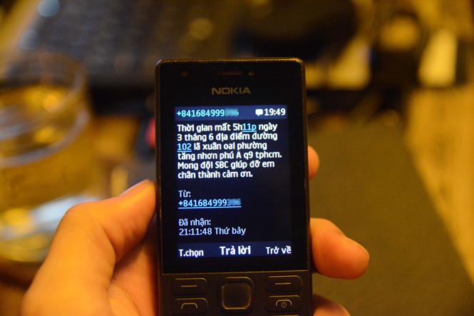 Đội SBC Q.9 cho biết, mỗi ngày đường dây nóng nhận khoảng 3 – 5 thông báo mất xe từ người dân  ẢNH: HOÀI NHÂN