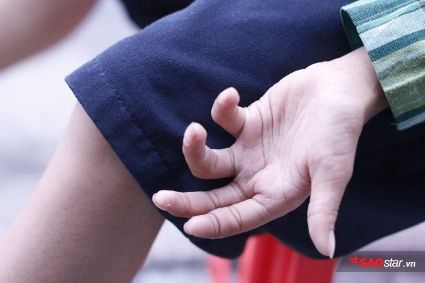 Bàn tay nhỏ bé.