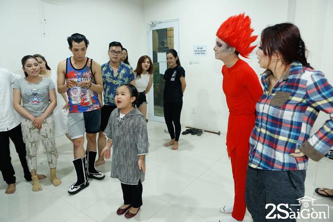 Miko Lan Trinh - Hoang Hai tap luyen cho dem CK (3)