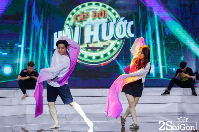 Miko Lan Trinh - Hoang Hai tap luyen cho dem CK (8)
