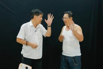 Phuoc Sang ho tro Ha Linh trong Sao Noi Ngoi (7)