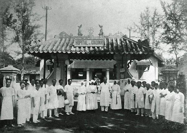 Nhà thương tại Gia Định xưa.