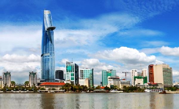 Các cao ốc không ngừng mọc lên ở TP Hồ Chí Minh.