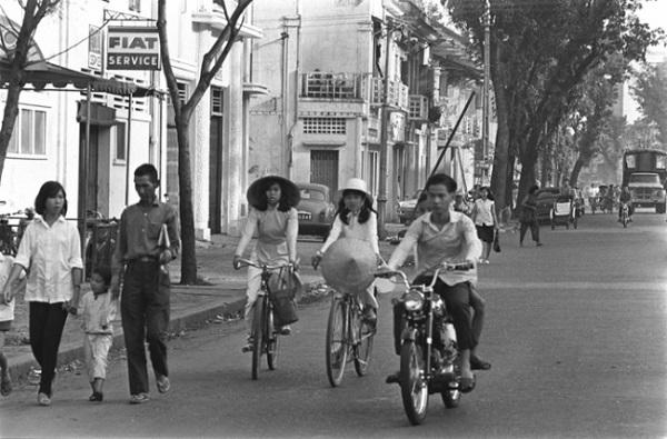 Giao thông mùa Hè Sài Gòn năm 1964