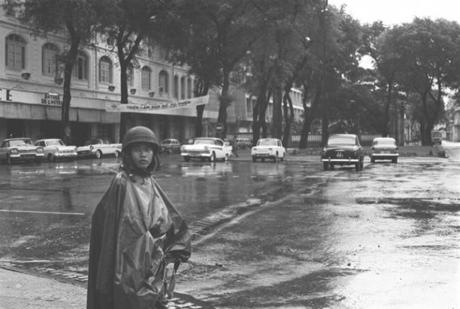 Một góc đường ở Sài Gòn năm 1964