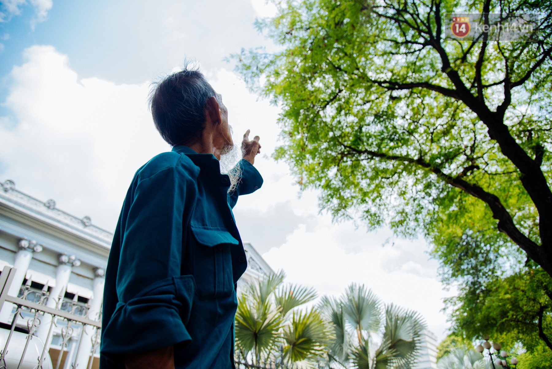 """Ông Thới - """"Vua hái me"""" ở Sài Gòn."""