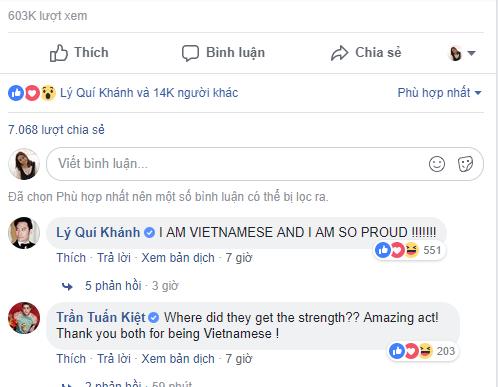 Hai nghệ sĩ Việt bày tỏ niềm tự hào đối với đêm thi đầy bùng nổ của anem họ Giang