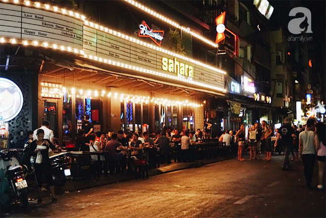 Sài Gòn là một thành phố không ngủ về đêm.